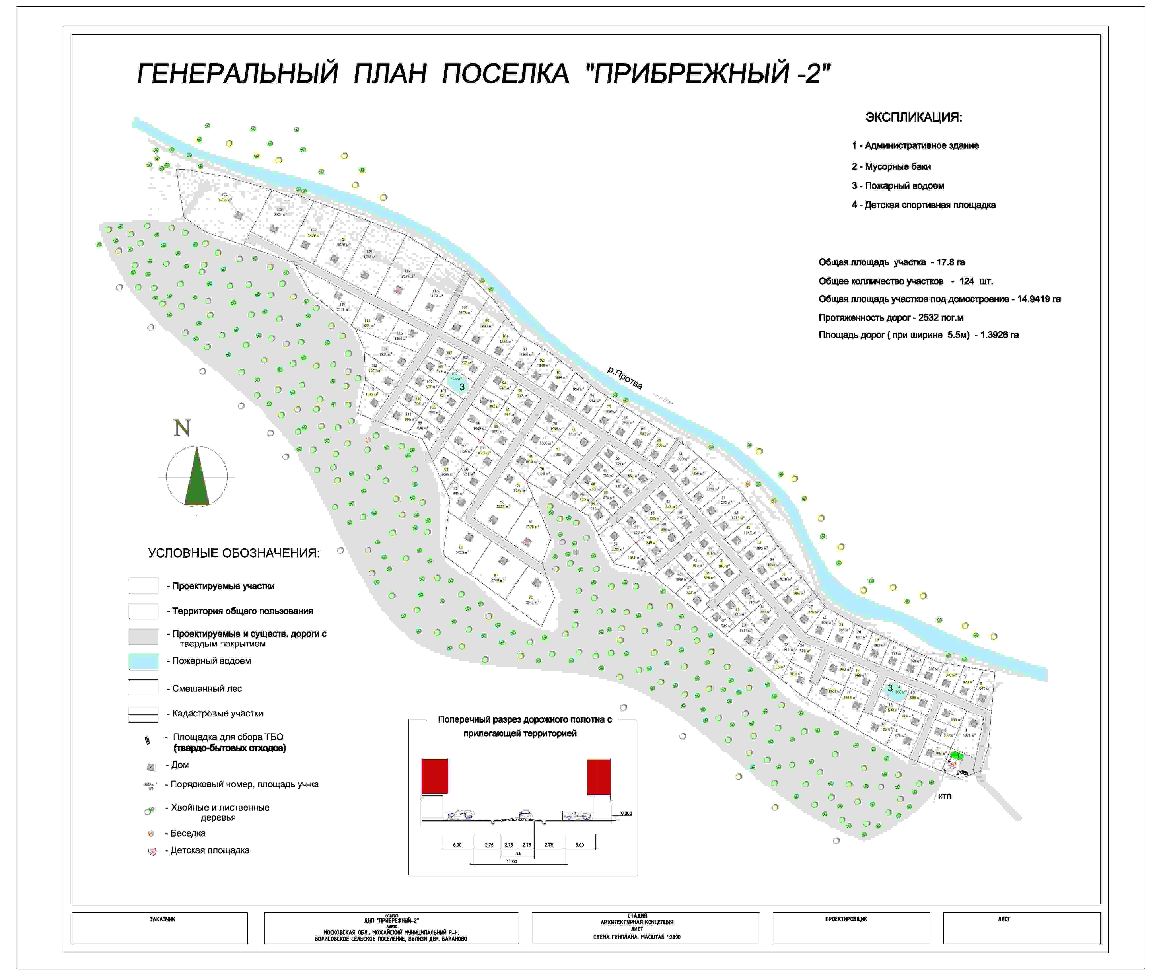 КП «Прибрежный 2» генплан №1