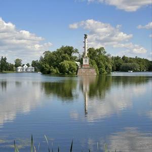 Большой пруд в Екатерининском парке отремонтируют этим летом