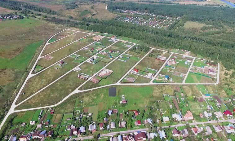 Коттеджный посёлок  «Назарьево Парк» по адресу Московская обл, Павлово-Посадский р-н, Назарьево д в 121.5км от МКАД предложения по цене от 320 850 руб.