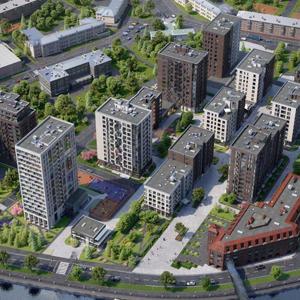 В клубном квартале «Резиденции архитекторов» началось строительство второй и третьей очереди проекта