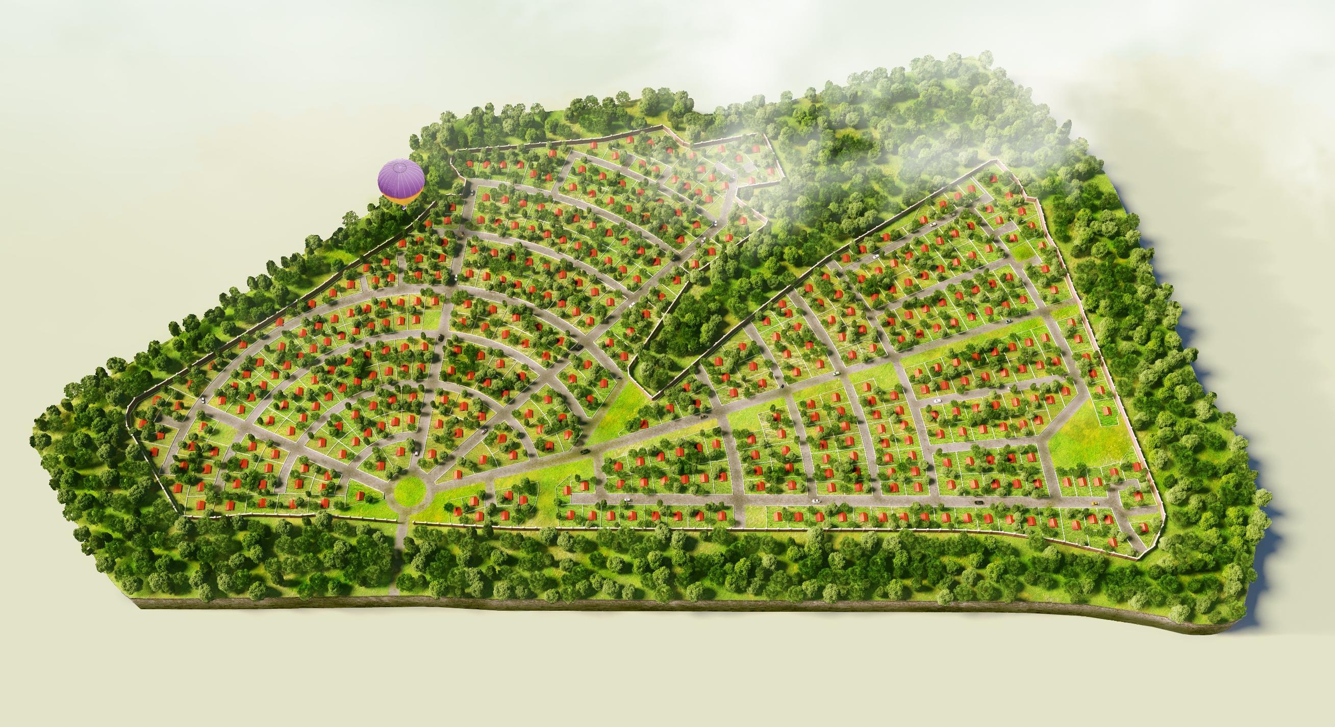 КП «Орлиные Холмы» генплан №2
